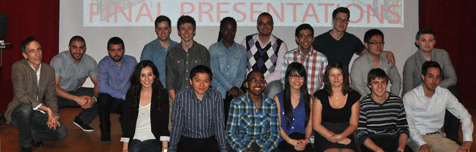 Architectural Technology students