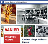 Click to visit the Athletics Alumni Facebook page.