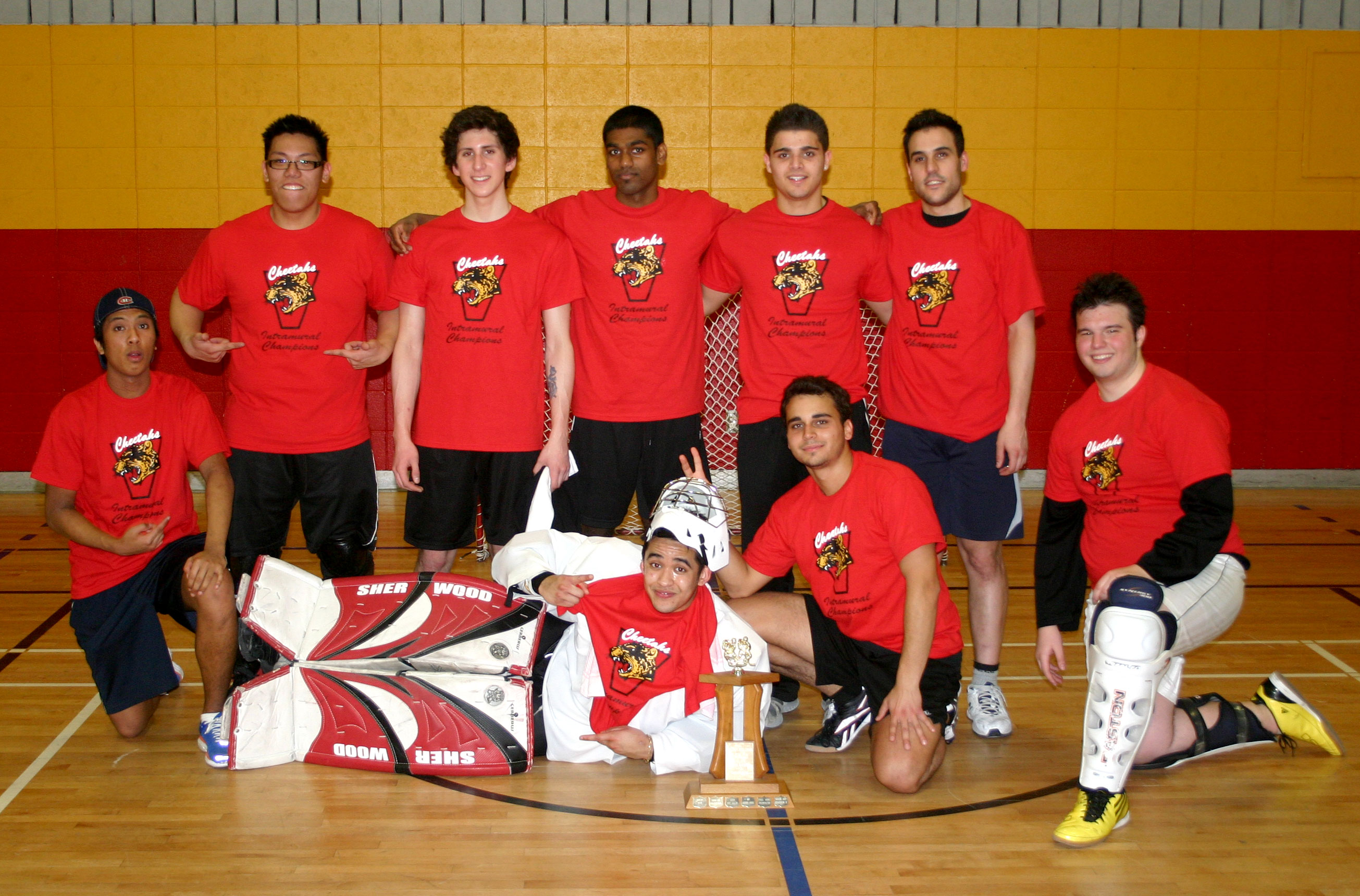 sports club intramural how to play street hockey.