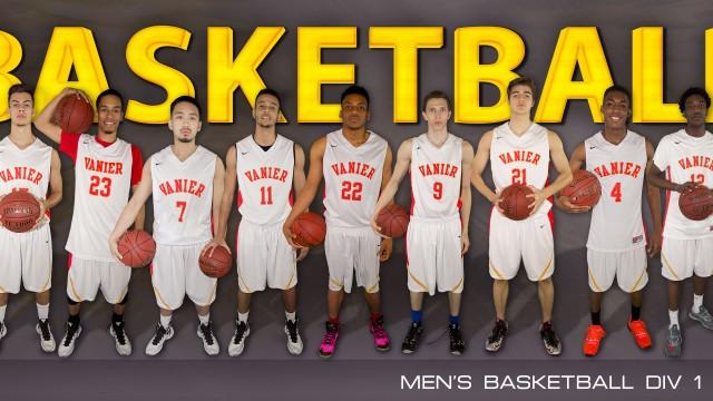 Division 1 Men's Basketball - 2015-2016 Team Photo