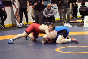 Frederic Choquette wrestling