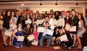 Academic Award Winners Group