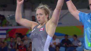Dorothy Yeats Women's Wrestling Rio Olympics 2016 - Win