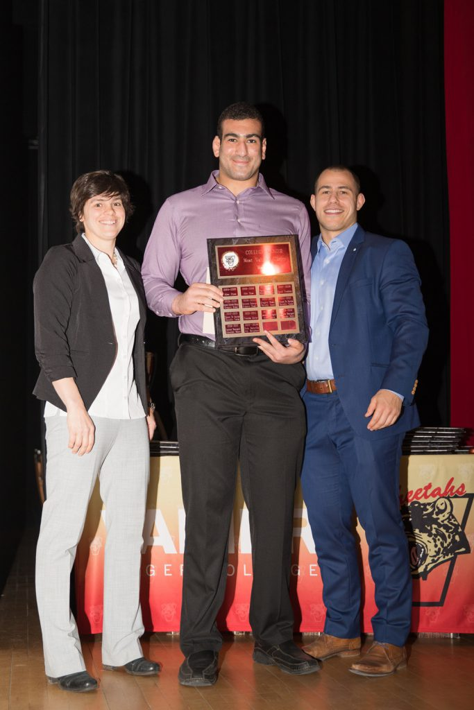 Wrestling MVP (M) - Aly Barghout.