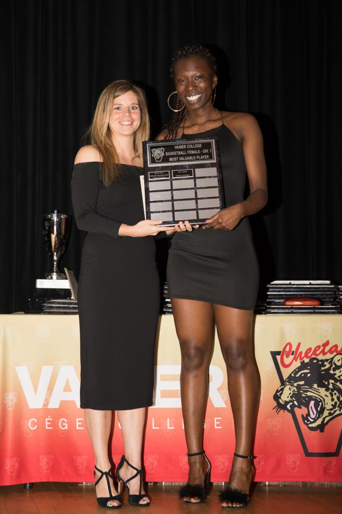 Women's Div.1 Basketball: Most Valuable Player - Debora Aboagye.