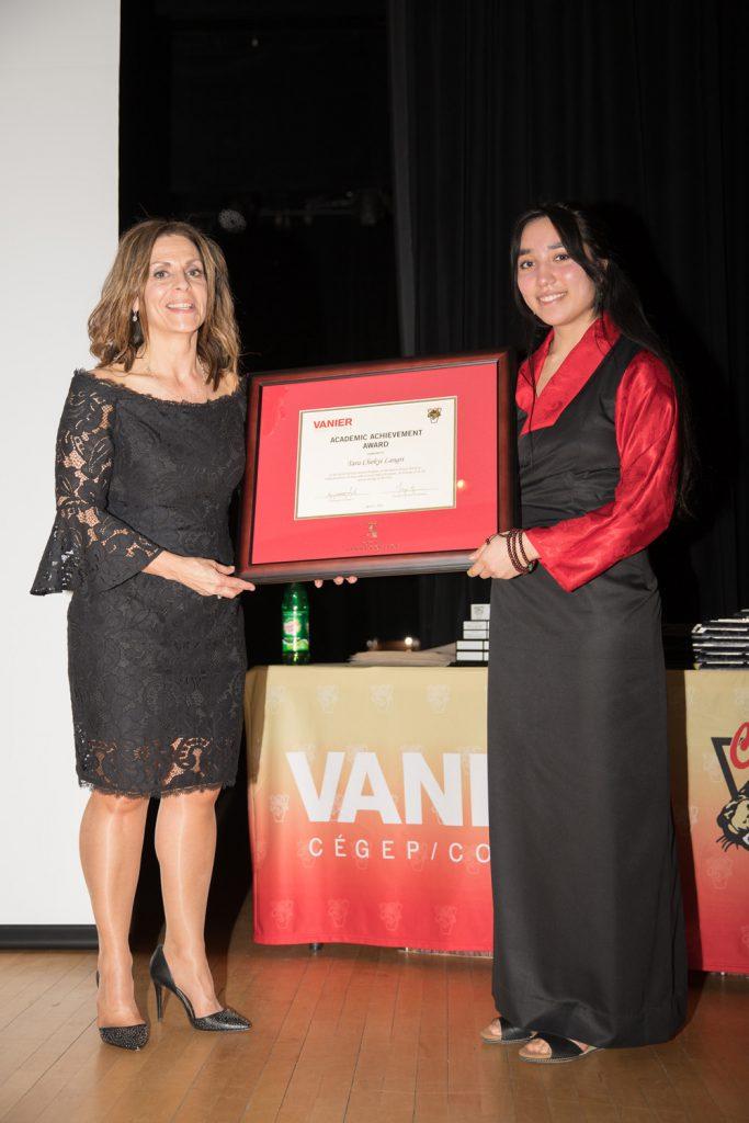 Academic Achievement Award winner - Tara Chokyi Langri.