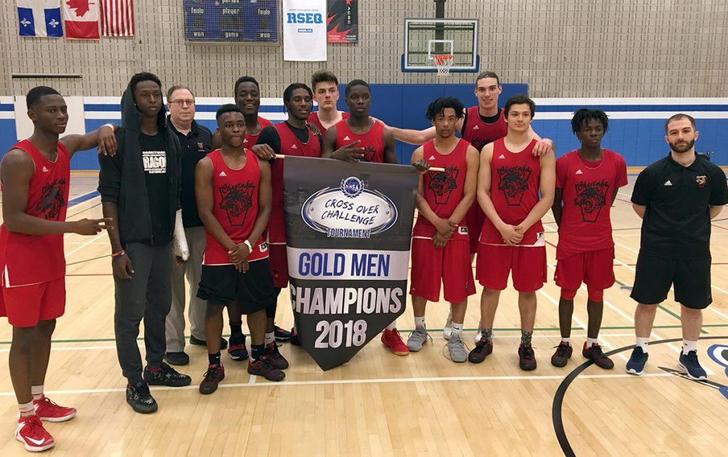 Div.1 Men's Basketball Cheetahs Win Cross Over Challenge Tournament