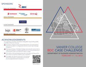 Case Challenge 2012 Presentation Schedule