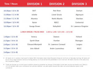 Presentation Schedule 2013