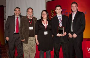 Finalist ScotiaBank Award Team Champlain