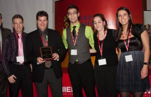 Finalist ScotiaBank Award Team Lionel Groulx