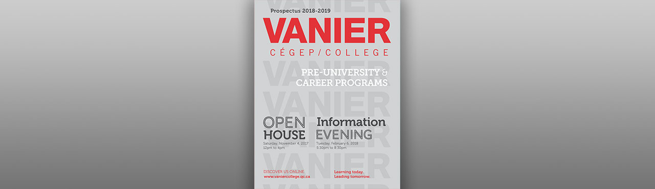 Programs offered at Vanier College