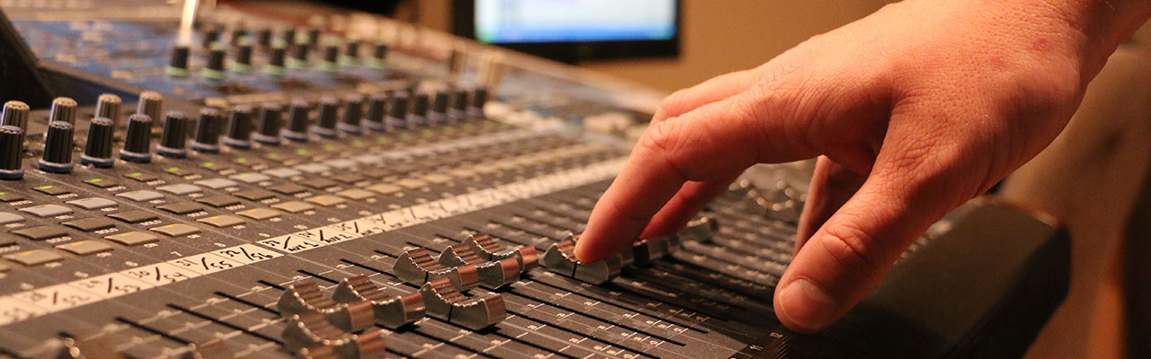Audio Recording Technology Information Session for Prospective Students
