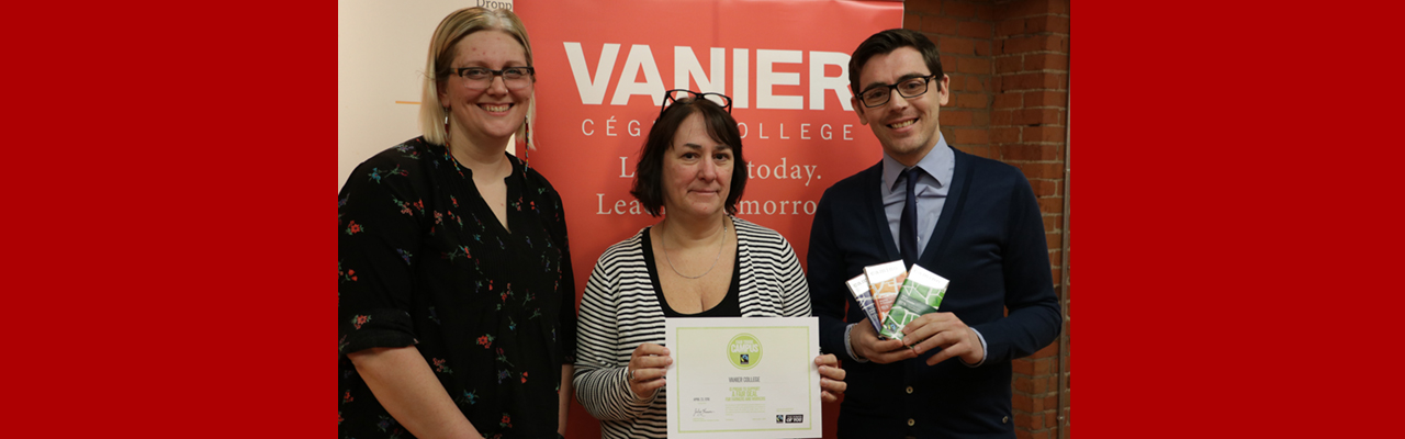 Vanier College Designated Fair Trade Campus