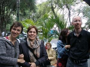 Lto R: Sophie Jacmin, Marielle Beauchemin, Philippe Gagné