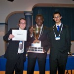 Vanier Finance Team: Travis Wood, Ewart Patterson and Tawsif Mahmood