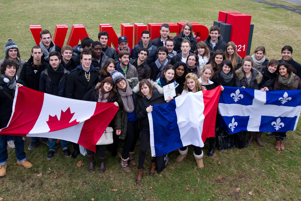 French exchange Students Business Admin 2011
