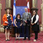 Philippe and Isabelle prix de la ministre 2016