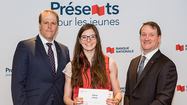 Maria Gheta National Bank-FAEQ Bursary