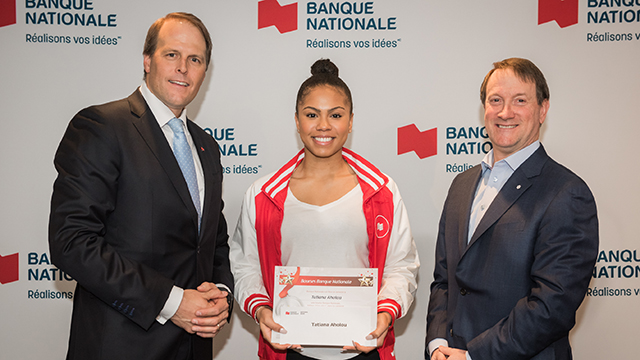 Tatiana Aholou National Bank – FAEQ bursary