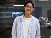 Joshua Alfaro, Industrial Electronics student