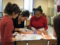Vanier nursing students
