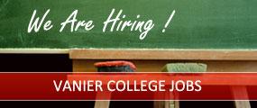 Vanier College jobs