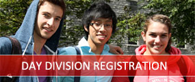 Day Division Registration Autumn 2013