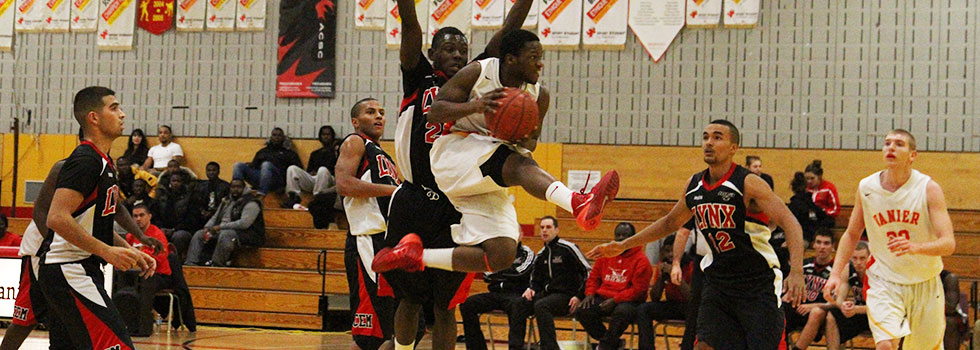 Vanier Cheetahs Men's Basketball Team Advance to Provincials