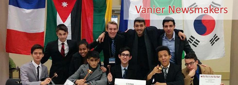 Vanier wins big at Dawson College Model U.N. competition