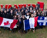 international exchange students