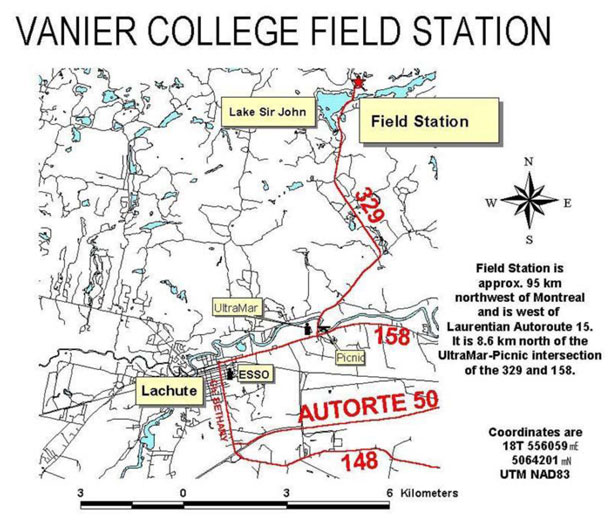 Field Station Map