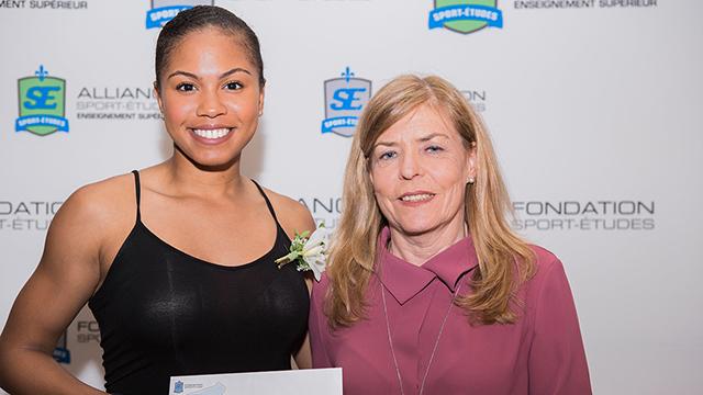 Tatiana Aholou SRAM Award
